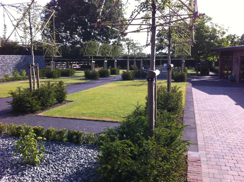 Sfeerimpressie tuin ontwerp terborg projecten for Ontwerp tuin